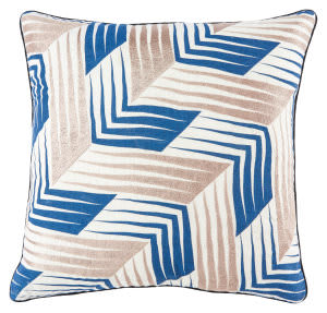 Jaipur Living Cosmic By Nikki Chu Pillow Nki39 Cnk34 Whisper White - Dark Denim
