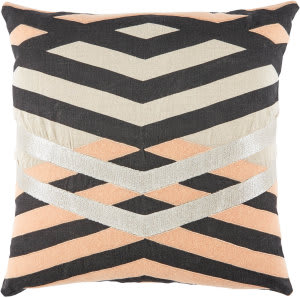 Jaipur Living Cosmic By Nikki Chu Pillow Averil Cnk35 Cream - Pink Area Rug