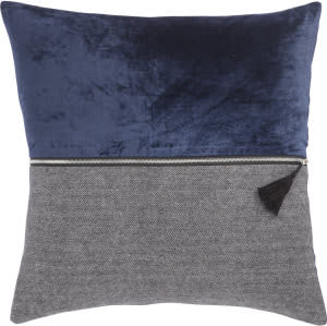 Jaipur Living Cosmic By Nikki Chu Pillow Kirat Cnk50 Blue - Gray
