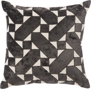 Jaipur Living Cosmic By Nikki Chu Pillow Danceteria Cnk55 Black - Ivory