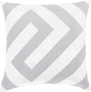 Jaipur Living Cosmic By Nikki Chu Pillow Hopi Cnk69 Silver - White