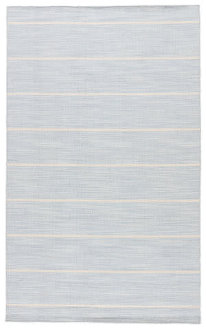 Jaipur Living Coastal Shores Cape Cod Coh16 Celestial Blue - Light Gray Area Rug