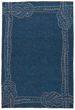 Jaipur Living Coastal Lagoon Killians Col49 Mallard Blue - Flint Gray Area Rug