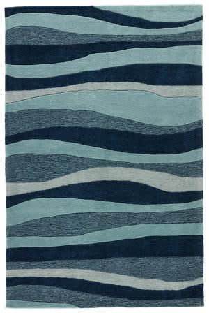 Jaipur Living Coastal Tides Dock Cot05 Dress Blues - Mineral Blue Area Rug