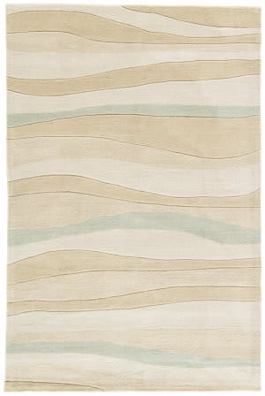 Jaipur Living Coastal Tides Dock Cot06 Angora - Incense Area Rug
