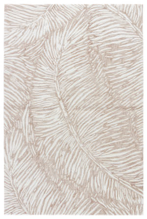 Jaipur Living Coastal Tides Melbor Cot14 Oxford Tan - Bone White Area Rug