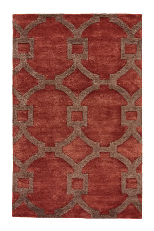 Jaipur Living City Regency Ct04 Baked Clay - Desert Palm Area Rug