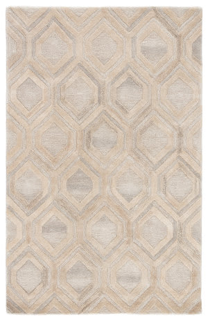Custom Jaipur Living City Hassan Ct117 Beige - Cream Area Rug