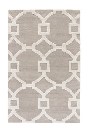 Custom Jaipur Living City Regency Ct34 Dove - Bright White Area Rug