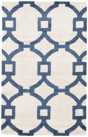 Jaipur Living City Regency Ct57 Light Gray - Dark Denim Area Rug