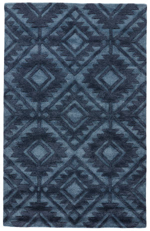 Jaipur Living City Lada Ct81 Blue Heaven - Blue Indigo Area Rug