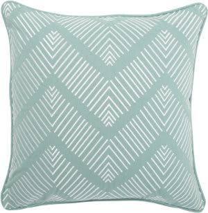 Jaipur Living Dekota Pillow Pilar Dek06 Turquoise - White Area Rug