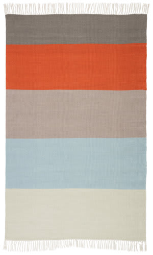Jaipur Living Desert Swane Des16 Orange - Blue Area Rug
