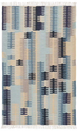 Jaipur Living Desert Carver Des21 Blue - Gray Area Rug