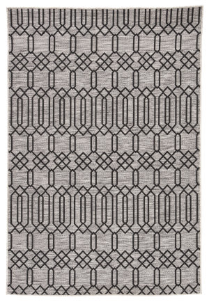 Jaipur Living Decora By Nikki Chu Calcutta Dnc01 Gray - Black Area Rug
