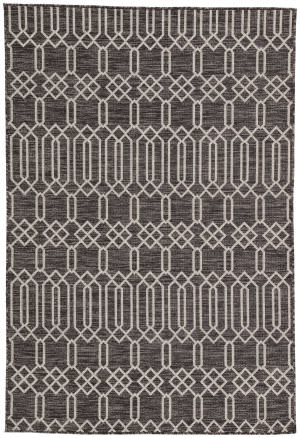 Jaipur Living Decora By Nikki Chu Calcutta Dnc02 Dark Gray - Silver Area Rug