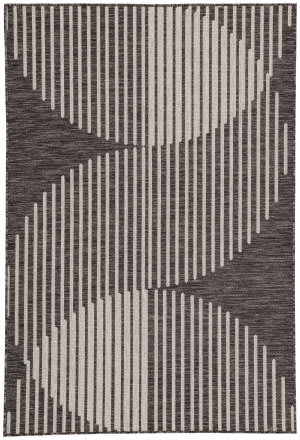 Jaipur Living Decora By Nikki Chu Tangra Dnc06 Dark Gray - Silver Area Rug