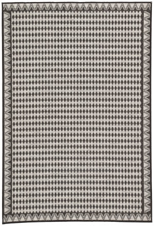 Jaipur Living Decora By Nikki Chu Melon Dnc10 Silver - Black Area Rug