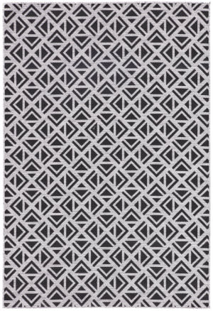 Jaipur Living Decora By Nikki Chu Tanith Dnc12 Light Gray - Black Area Rug