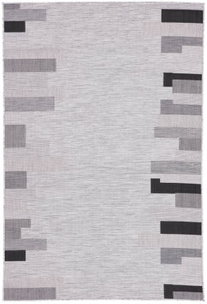 Jaipur Living Decora By Nikki Chu Nikea Dnc14 Light Gray - Black Area Rug