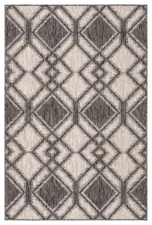 Jaipur Living Decora By Nikki Chu Samba Dnc15 Black - Ivory Area Rug