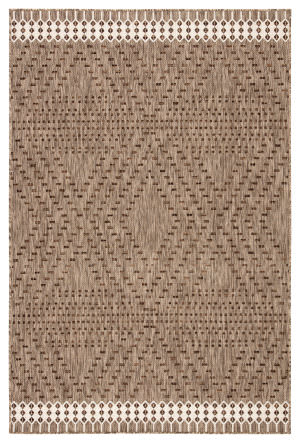Jaipur Living Decora By Nikki Chu Tirana Dnc18 Brown - Ivory Area Rug