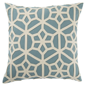 Jaipur Living Dante Pillow Dante Dnt06 Teal - Cream Area Rug