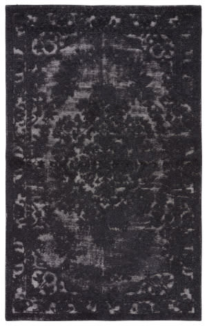 Jaipur Living Eclipse Gala Ecl01 Jet Black - Gray Violet Area Rug