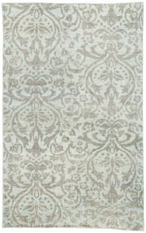 Jaipur Living Enchanted By Jennifer Adams Sofia Eja01 Cameo Blue - Dark Gull Gray Area Rug