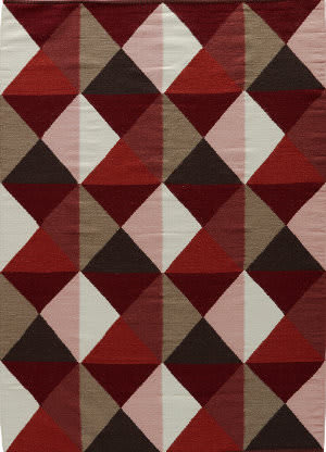 Jaipur Living Elmhurst Ritner Elm01 Ruby Wine and Tandori Spice Area Rug