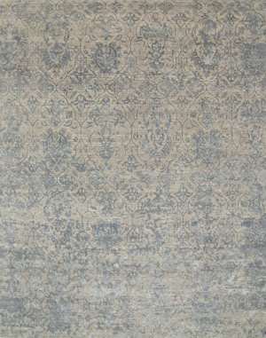 Jaipur Living Chaos Theory By Kavi Esk-632 Ivory - Skyline Blue Area Rug