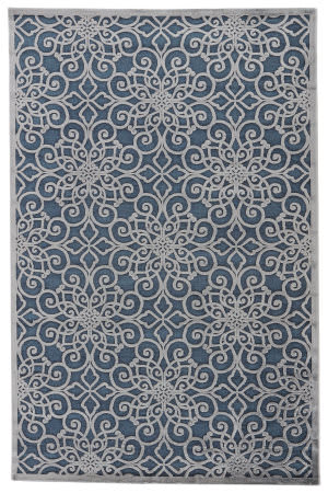 Jaipur Living Fables Stockton Fb134 Majolica Blue Area Rug
