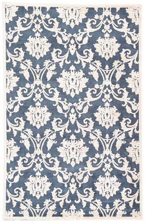 Jaipur Living Fables Glamourous Fb78 Black Iris - Crème Brulee Area Rug