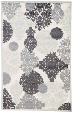 Jaipur Living Fables Wistful Fb80 Light Gray - Plum Kitten Area Rug