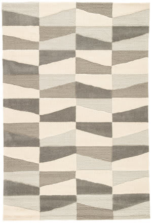 Jaipur Living Fusion Costello Fn47 Silver Lining and Walnut Area Rug