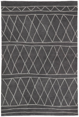 Jaipur Living Fusion Pax Fn60 Dark Gray - Light Gray Area Rug