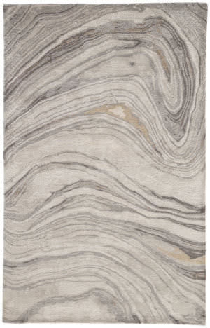 Custom Jaipur Living Genesis Atha Ges11 Gray - Gold Area Rug