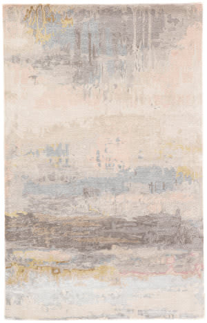 Custom Jaipur Living Genesis Benna Ges17 Blush - Light Blue Area Rug