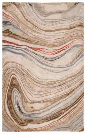 Jaipur Living Genesis Atha Ges31 Brown - Red Area Rug