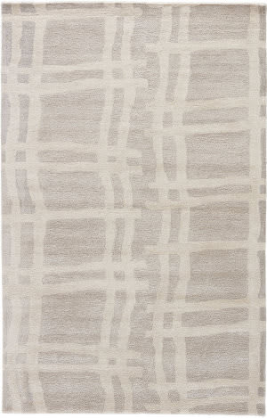 Jaipur Living Gramercy By Kate Spade New York Broken Plaid Gkn40 Platinum Area Rug
