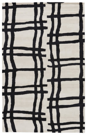 Jaipur Living Gramercy By Kate Spade New York Broken Plaid Gkn44 Cream Area Rug