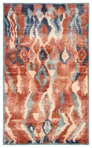 Jaipur Living Gallant Woodstock Glt01 Red - Blue Area Rug