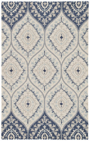 Jaipur Living Hacienda Druid Hac15 Blue - Cream Area Rug