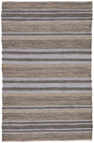 Jaipur Living Himalaya Treena Hm23 Charcoal Gray and Steel Gray Area Rug
