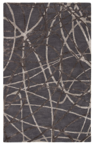 Custom Jaipur Living Hollis Denali Hol03 Steel Gray Area Rug