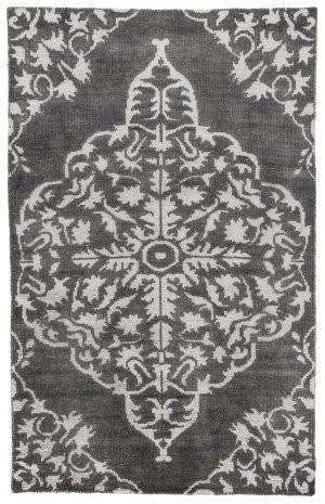 Jaipur Living Heritage Chantilly Hr04 Charcoal Area Rug