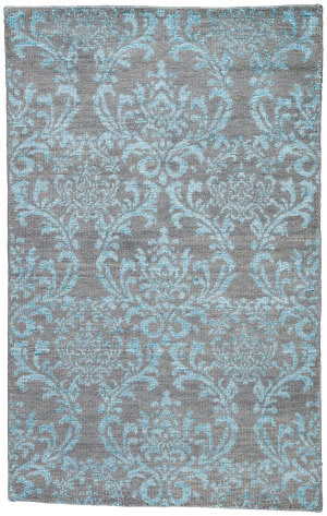 Jaipur Living Heritage Hillier Hr16 Gray - Turquoise Area Rug