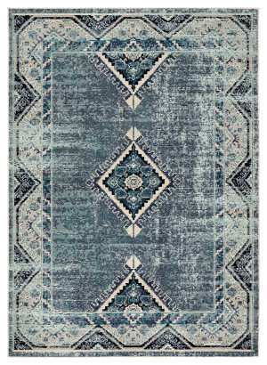 Jaipur Living Indie Zhara Ide02 Blue - Purple Area Rug