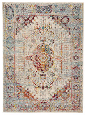 Jaipur Living Indie Elowen Ide06 Multicolor - Orange Area Rug