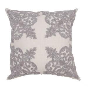 Jaipur Living Inspired By Jennifer Adams Pillow Jen01 Jai02 Creme Brulee